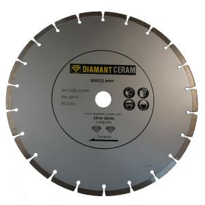 Disque diamant universel segmenté 300mm - Silver