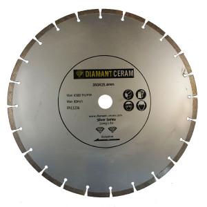 Disque diamant universel segmenté 350mm - Silver