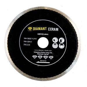 Disque diamant jante continue 180mm - Platinum