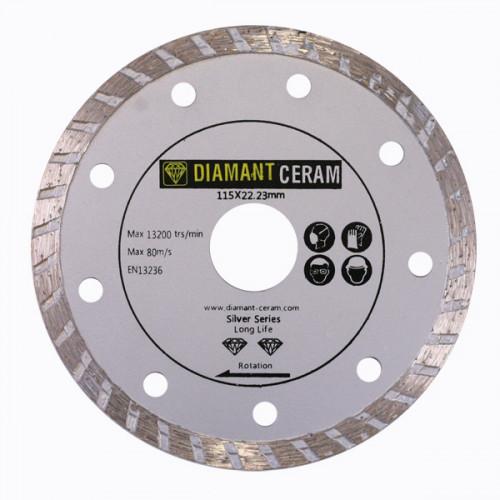 Disque diamant jante Turbo 115mm – Silver