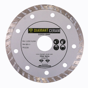 Disque diamant jante Turbo 115mm – Silver