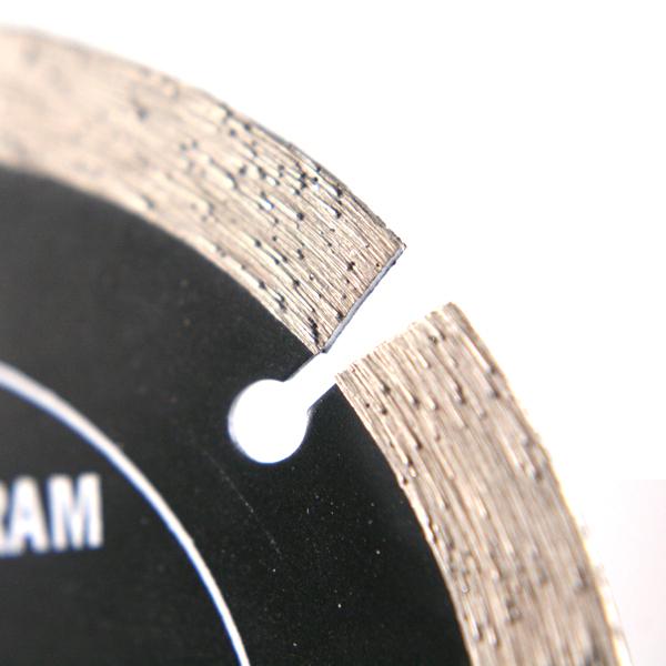 Disque diamant universel segmenté 115mm - Platinum