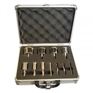 Coffret de forets trépans diamant céramique (6 à 51mm)