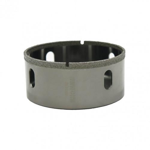 Foret diamant 80mm avec emplacement pour guide