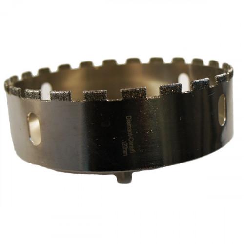 Trépan diamant céramique - diamètre 120 mm