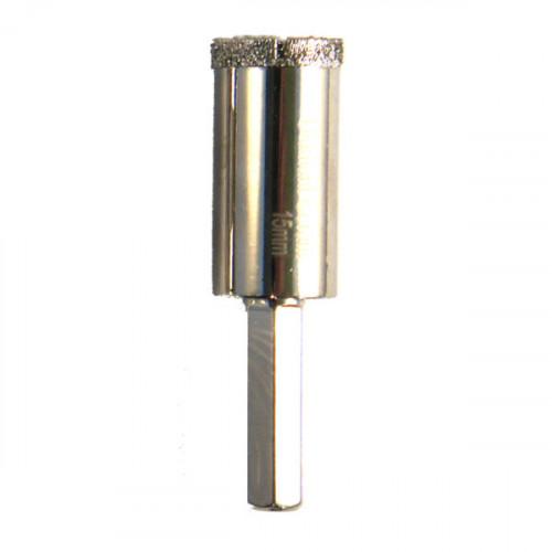 Foret trépan diamant céramique diamètre 15mm