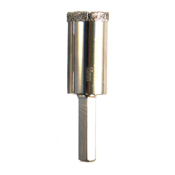 Foret trépan diamant céramique diamètre 14mm